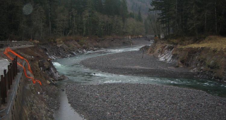 Marmot Dam site January 2008