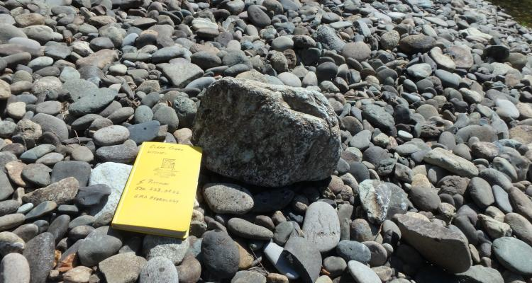 "Previously immobile boulder ""floated"" out of the bed matrix by the increase in gravel sized sediment"