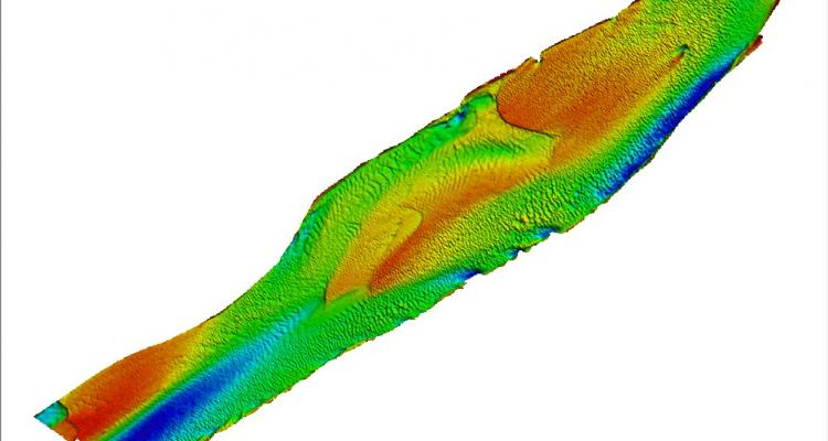 2014 Digital Terrain Model of Detailed Survey Area