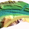 Integrated Gridded Bare-Earth LiDAR Model and Bathymetry Model